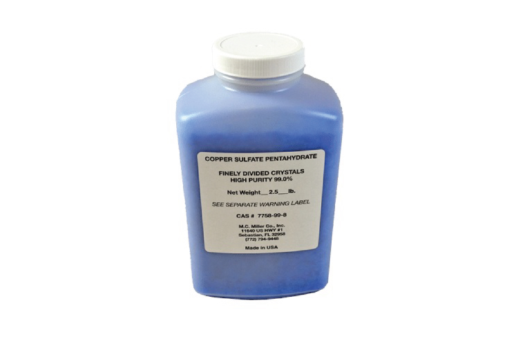 Corrosion Service   CRYSTALS COPPER-SULPHATE 40 OZ BOTTLE (2-1/2 LBS